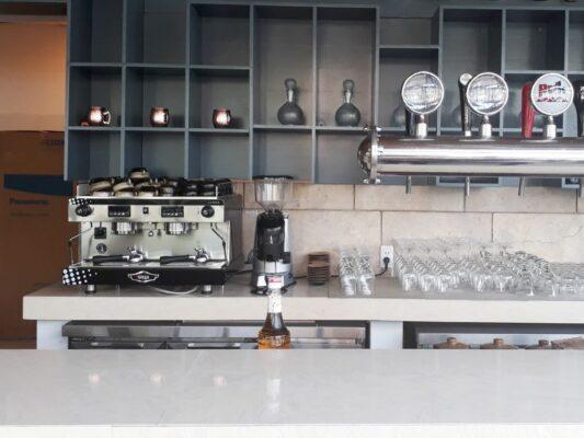 tân trang máy pha cafe