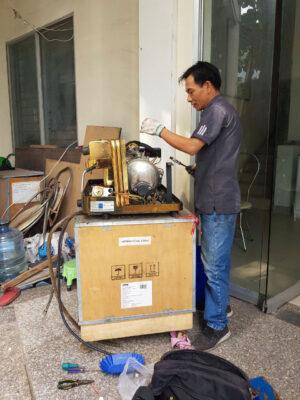 bảo trì máy pha cà phê Thiên Ân