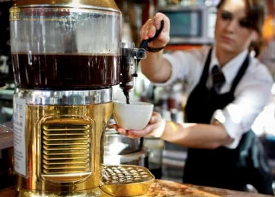 sử dụng máy pha cà phê đúng cách