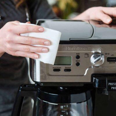 cách vệ sinh máy pha cafe